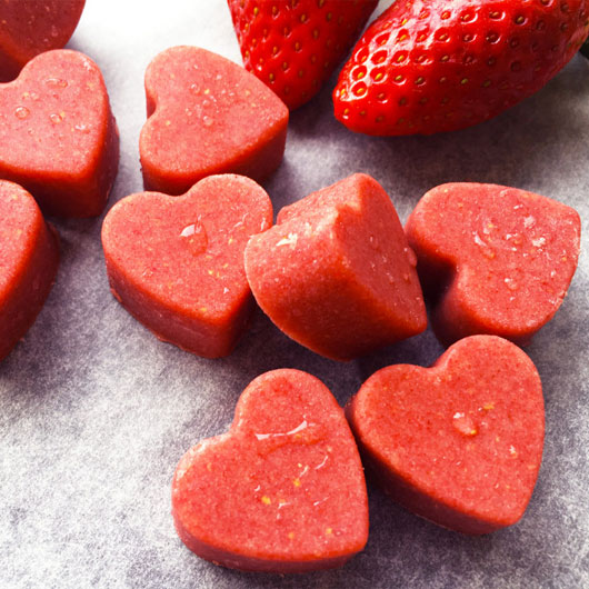 Strawberries and Heart